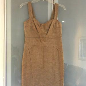 Diane von Furstenberg Gold Dress